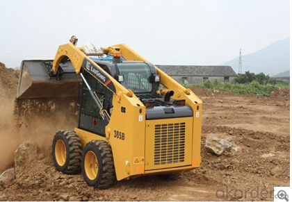 Skid Steer Loader CLG385BIII,Operator Comfort and Safety high quality