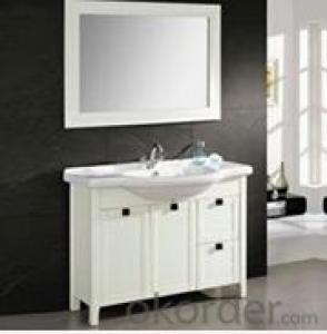 modern painting bathroom cabinet baking finish