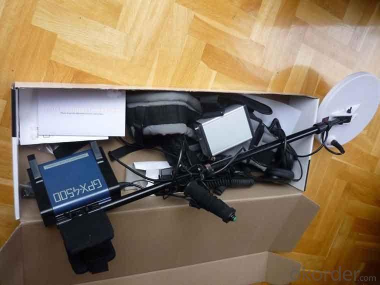 Zhongmei brand Cheap Portable Diamond Metal detector GPX4500 / GPX5000