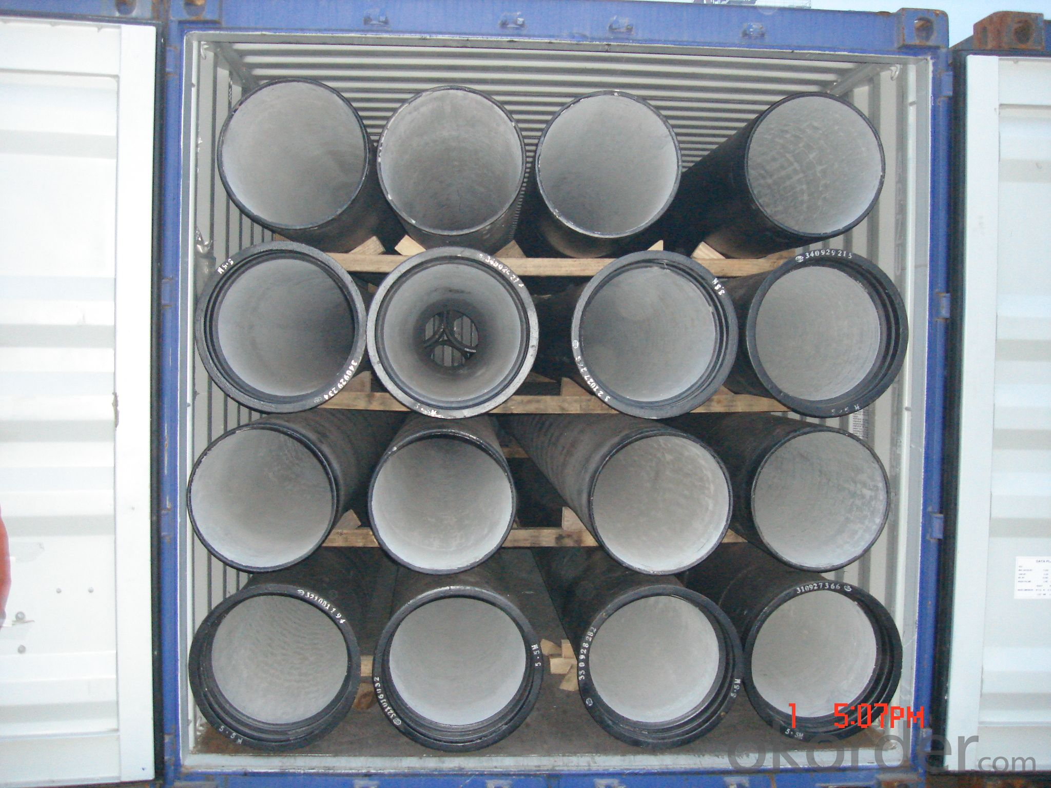 DUCTILE IRON PIPES AND PIPE FITTINGS K8CLASS DN200