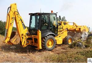 Backhoe Loaders CLG777AIII,ROPS/FOPS cab