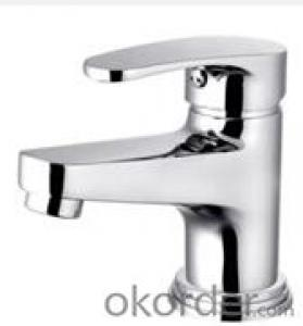 Water Tap Single Cold Basin Faucet Wash Square Bathroom Faucets