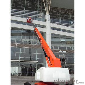 Telescopic boom lift GTBZ36/38