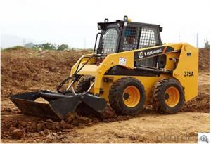 Skid Steer Loader CLG375AIII,Built for Efficiency