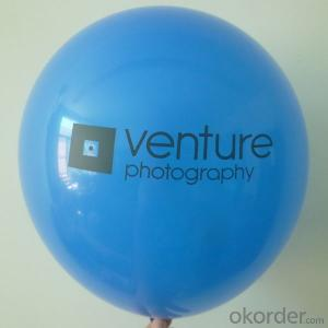 High quality advertising gift latex ballons customer printed