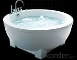 Besma acrylic bathroom tubs round shape B-7303