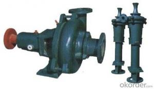 Zhongmei brand single stage PN mud pump