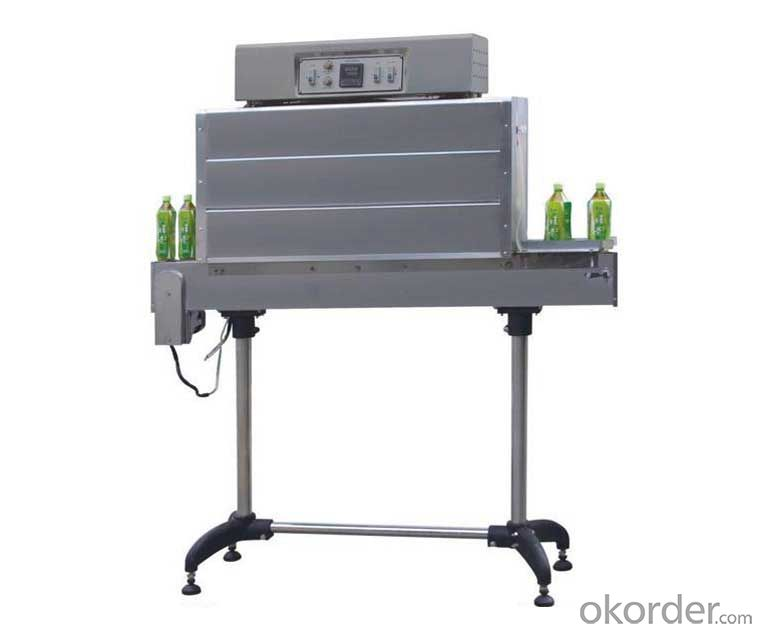 BSS-1538B shrink packing machine for bottle neck