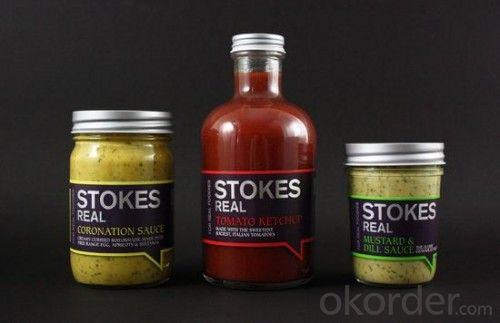 Hotsale Rolled Print Label For Bottles Custom order