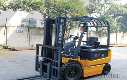 FORKLIFT CPD20,Balance weight design allows for excellent cooling capacity