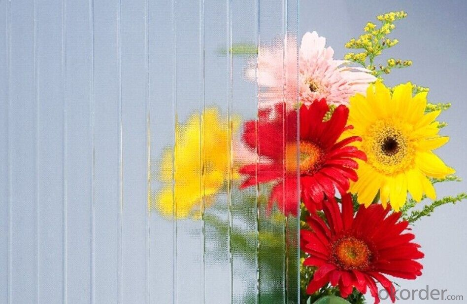 Temperable grade -clear pattern glass- Masterlite