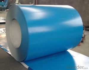 Pre-Painted Steel Coil Blue Color Prime Quality