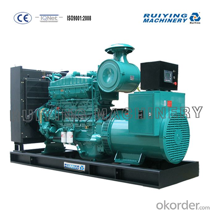 CUMMINS generator with soundpfoof from Shanghai Ruiying 100kva