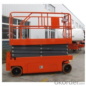 Self-Propelled Electric Scissor Lift Model: GTJZ08, GTJZ10