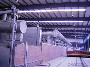 tunnel kiln of brick making production line
