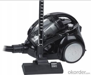 True Multi-Cyclone Vacuum Cleaner with Low Suction Lose