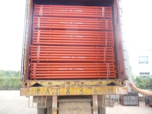 Export Steel Props /painted surface steel prop / telescopic steel prop / red color prop 2.2-4M