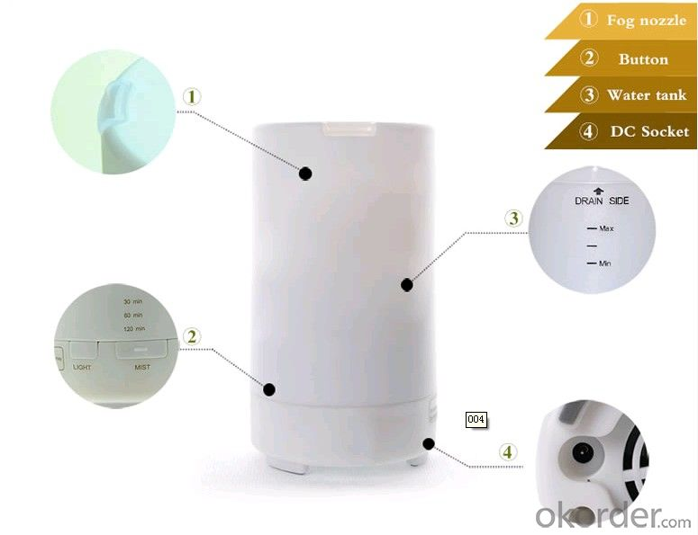 New Innovative Purity Nebulizing Diffuser  Essential Oil, Ultrasonic technoloyg