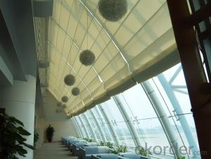 FCS Folding Roof Blinds for Indoor Sunshade