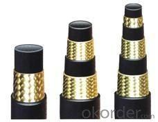En 856 4sh Steel Wire Spiral Rubber Hose Hydraulic Hose
