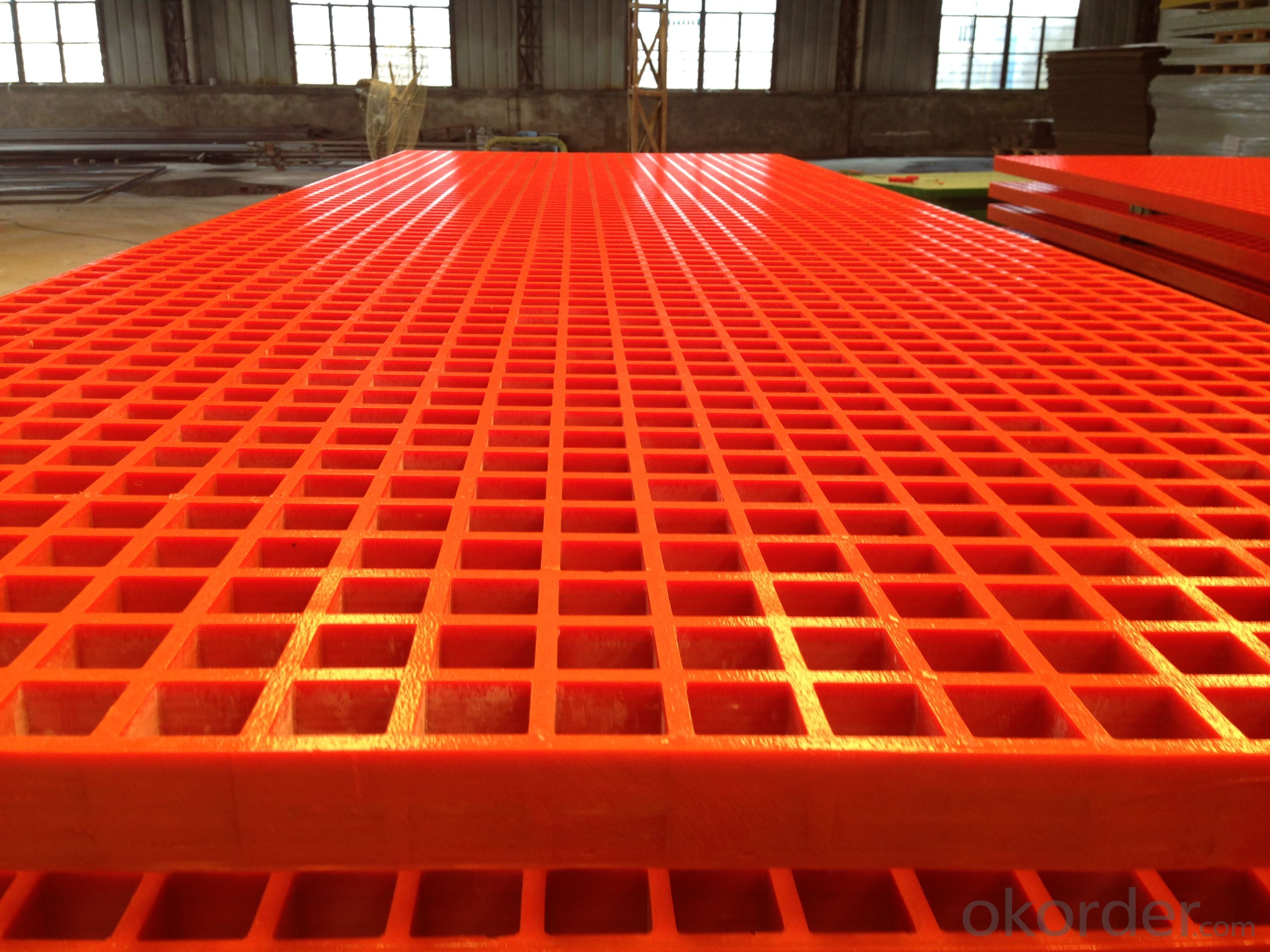 FRP grating for pollution discharge construcation