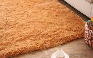 Carpet 3D Floor Polyester Shaggy Carpet with Modern Design