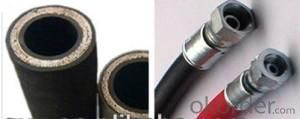 SAE 100 R1 R2 DIN En 856, En 853 2sn Hydraulic Rubber Hose