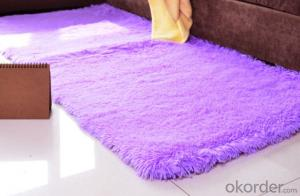 Carpet Anti-slip PVC Polyester Memory Foam Bathroom Carpets and Rugs