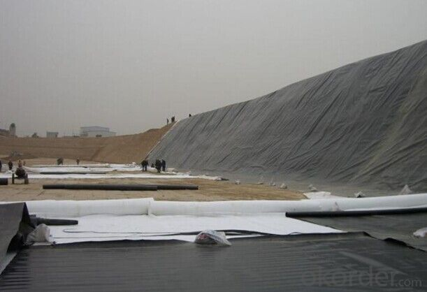 PP Woven Geotextile for Dam Construction