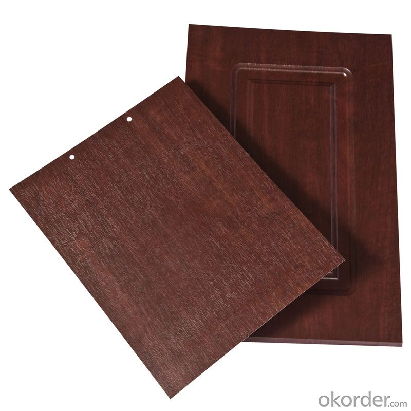 PVC Wood Grain Decorative and Matter Surface Film HCJ012G