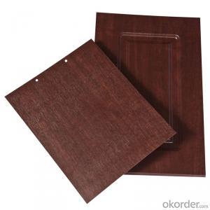 PVC Wood Grain Decorative and Matter Surface Film HCJ012G