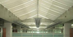 Motorized Skylight Blinds for Sunshade Building