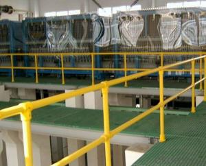 FRP grating anti-corrosion in the big plant and big industry