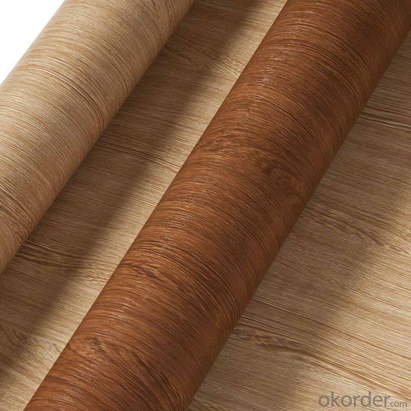 PVC Wood Grain Decorative and Matter Surface Film HAJ004GH