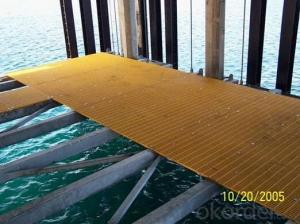Non-skid FRP grating aimpact resistance 2015