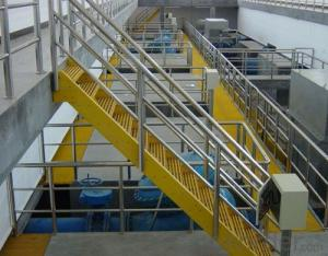 FRP grating floor insulation for power steel paper plant