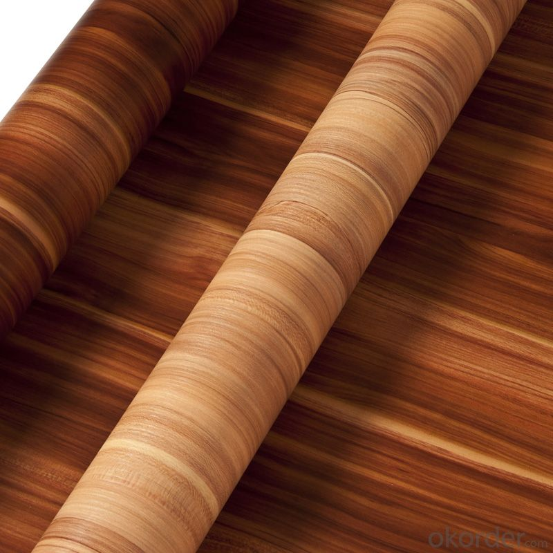 PVC Wood Grain Decorative and Matter Surface Film Hcc061g
