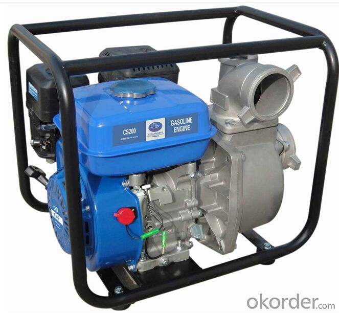 Gasoline water pump,Air-cooled,4-stroke,Gasoline engine