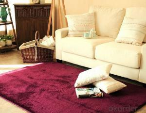 Wholesale Tufted Polyester Modern Shaggy Floor Carpet
