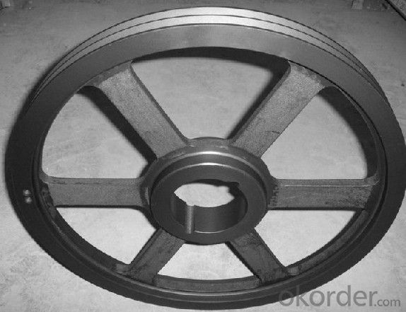 Belt Wheel Used for Teleportation