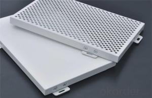 Perforated Aluminum Cladding panel,good performace