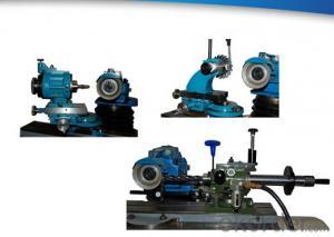 air-bearing endmill grinding fixture series