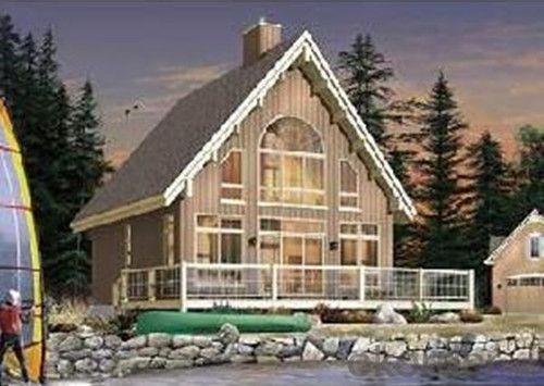 Prefabricated Wooden House with Sweet and Low Cost