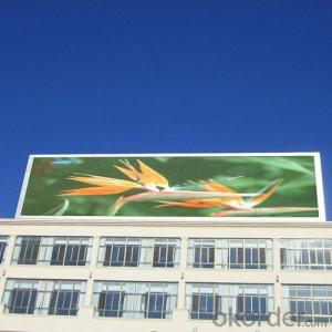 Full Color Outdoor LED Display PH20 HD 320mm*160mm