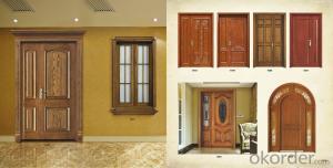 Soild  Wooden Door  with New Design and  Hot Sale