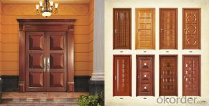 Wooden Door Design for Hotel Doors with CO CE