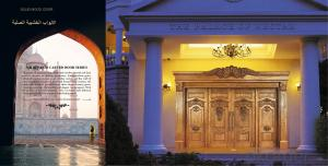 Morden Soild Wooden Door Design for Hotel and Village and Interior Doors