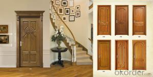 Soild Wood Door with Best Design and High Quality Manufacturer