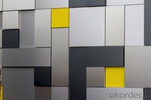 Architecture wall  cladding, Various Colors, Good Decorative Effect