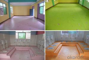 PVC Flooring for Children Playground PVC Flooring for Children Playground
